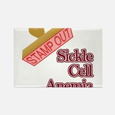 Sickle Cell Anemia Rectangle Magnet