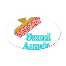 Sickle Cell Anemia Oval Car Magnet