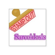 "Sarcoidosis Square Sticker 3"" x 3"""