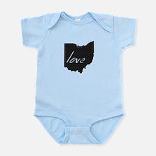 Love Ohio Infant Bodysuit