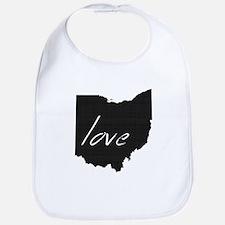 Love Ohio Bib