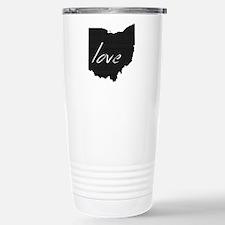 Love Ohio Travel Mug