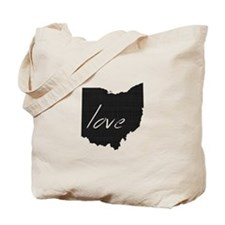 Love Ohio Tote Bag