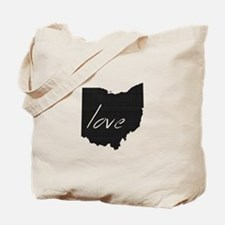 Love Ohio Tote Bag