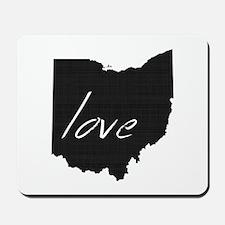 Love Ohio Mousepad