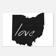 Love Ohio Postcards (Package of 8)
