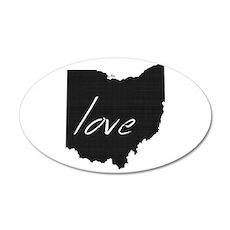 Love Ohio Wall Decal