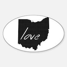 Love Ohio Decal