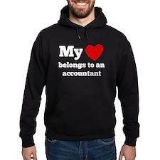 My Heart Belongs To An Accountant Hoodie