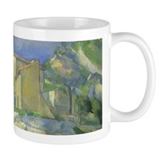 Houses in Provence by Cezanne Mugs