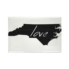 North Carolina Rectangle Magnet (10 pack)