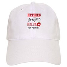 Retired Principal at Heart Baseball Cap