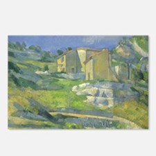 Houses in Provence by Cez Postcards (Package of 8)