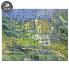 Houses in Provence by Cezanne Puzzle