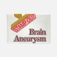 Brain Aneurysm Rectangle Magnet