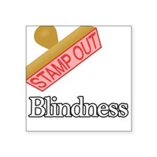 """Blindness.png Square Sticker 3"""" x 3"""""""
