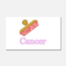 Cancer Car Magnet 20 x 12