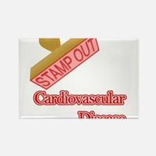 Cardiovascular Disease Rectangle Magnet