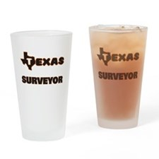Texas Surveyor Drinking Glass