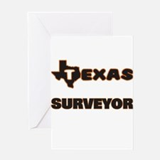 Texas Surveyor Greeting Cards