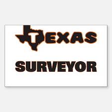 Texas Surveyor Decal