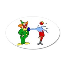 goofy clown Wall Sticker