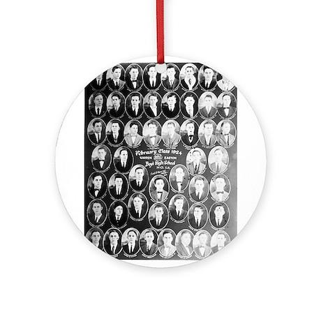 Warren Easton Class of 1924 Ornament (Round)
