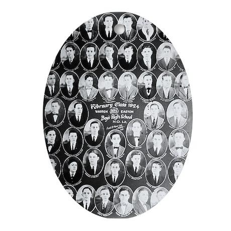Warren Easton Class of 1924 Oval Ornament