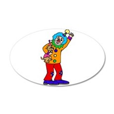 funny clown Wall Sticker