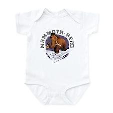 Ice Age Mammoth Infant Bodysuit
