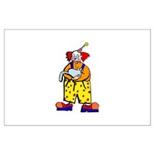 clown Large Poster