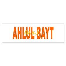 Ahlul Bayt (Bumper Sticker) Bookmark