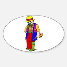carnival clown Decal