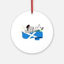 Scottish Ornament (Round)