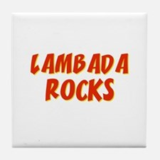 Lambada Rocks Tile Coaster