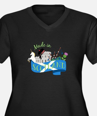 Made In Scotland Plus Size T-Shirt