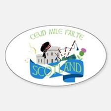 Ceud Mile Failte Scotland Decal