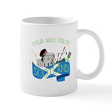 Ceud Mile Failte Scotland Mugs