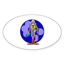 clown Sticker (Oval 10 pk)
