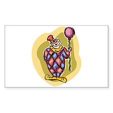 clown Sticker (Rectangle)