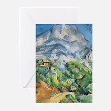 Cezanne Mont Sainte Victoire Greeting Cards