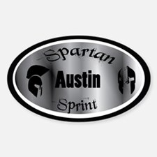Spartan Sprint Austin Texas Decal