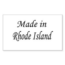 Rhode Island Rectangle Decal