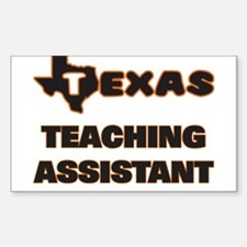 Texas Teaching Assistant Decal
