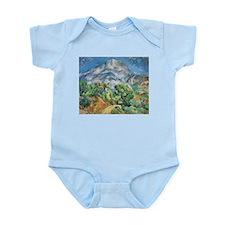 Cezanne Mont Sainte Victoire Body Suit