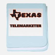 Texas Telemarketer baby blanket