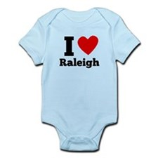 I Heart Raleigh Body Suit