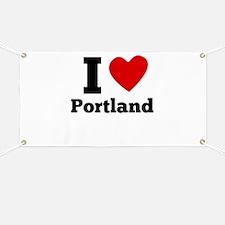 I Heart Portland Banner