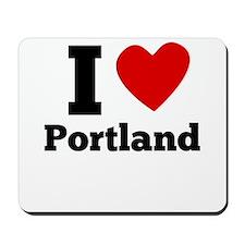 I Heart Portland Mousepad