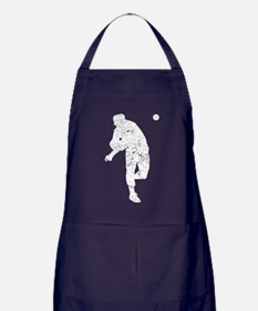 Vintage Baseball Pitcher Apron (dark)